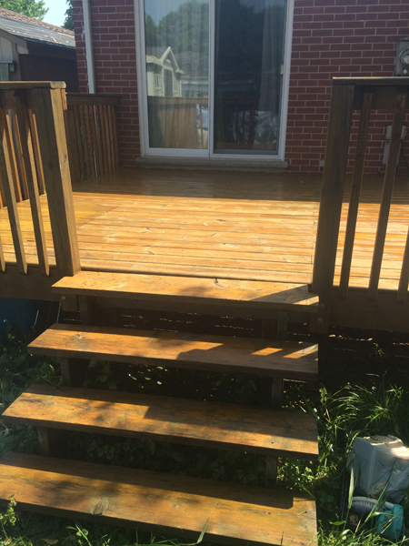 Deck Painters London Ontario - After